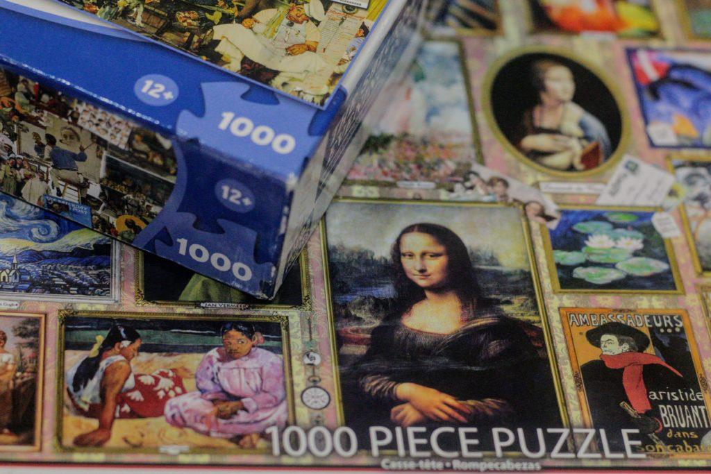 モナリザのパズル