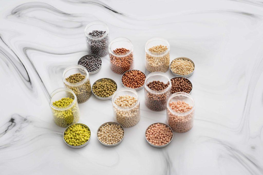 いろんな種類の豆