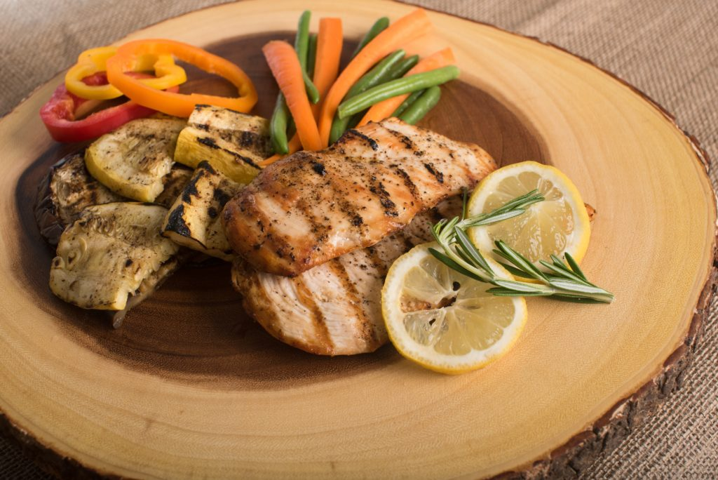 タンパク質をしっかり摂取できるメニューのイメージ