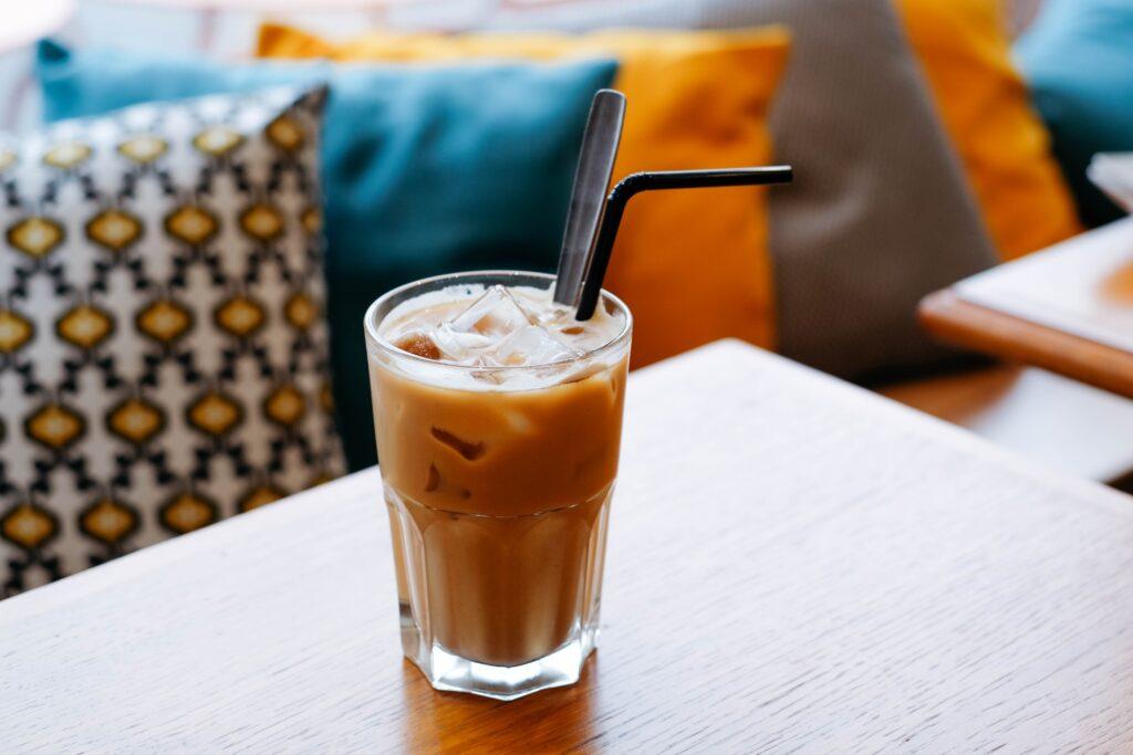 氷の入ったアイスコーヒー
