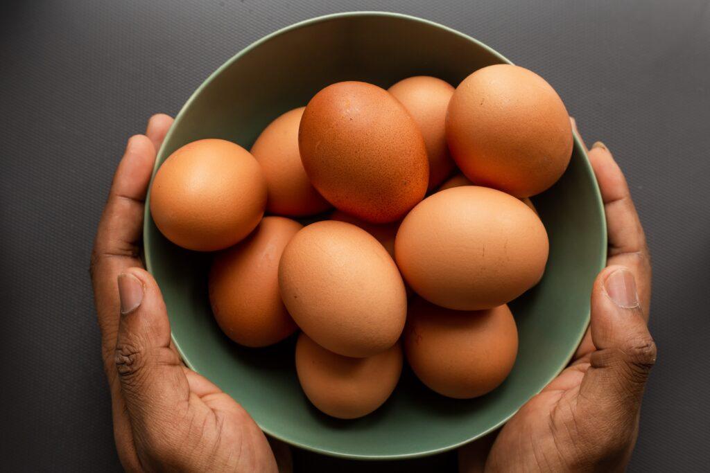 良質なタンパク質が含まれる卵のイメージ